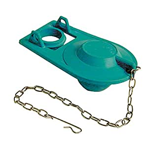 Danco 88442 Premium Toilet Flapper With Chain And Hook Rubber
