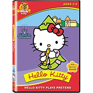 Amazon.com: Hello Kitty Plays Pretend: Melissa Fahn, Laura Summer ...