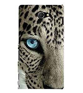 ifasho Designer Phone Back Case Cover Sony Xperia M2 Dual :: Sony Xperia M2 Dual D2302 ( Colorful Pattern Design Violet )