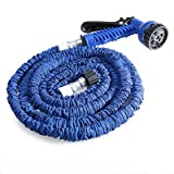200ft Expandable Garden Hose Magic Flexible Water Hose Eu Hose Plastic Hoses Pipe With Spray Gun - Green