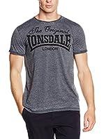 Lonsdale Camiseta Manga Corta Horley (Antracita)
