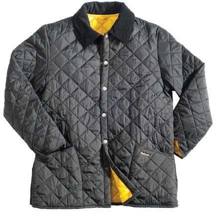 Barbour Liddlesdale Jacket Navy Blue Small