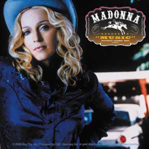 Licenses Products Madonna Music Sticker