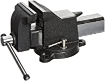 "Big Sale Yost Vises 934-AS 4"" Medium-Duty All-Steel Combination Pipe and Bench Vise with 360-Degree Swivel Base"