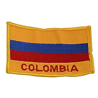 Rasta Flag Patch-Colombia