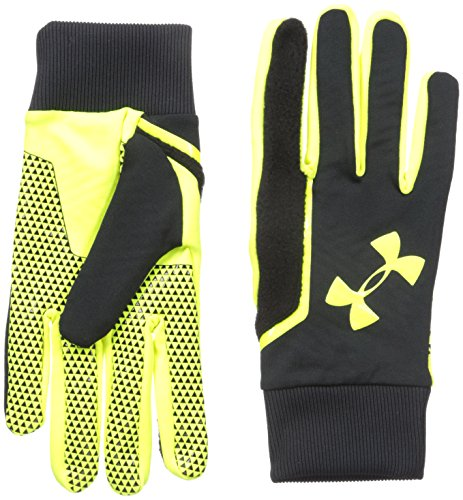 Under Armour calciatore Soccer Field Players Guanti, Uomo, Fußball Spielerhandschuhe SOCCER FIELD PLAYERS Gloves, nero, M