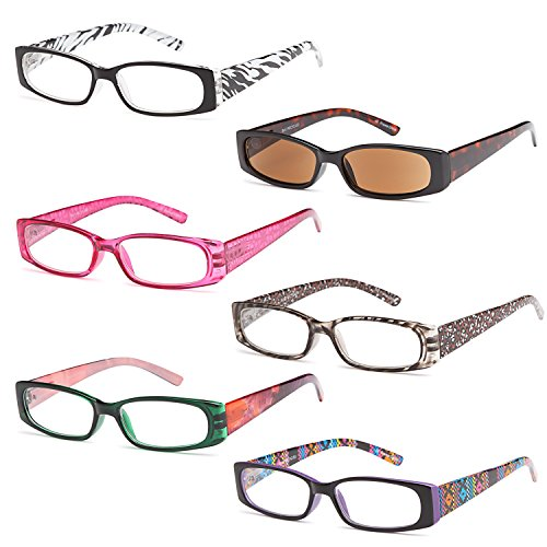 gamma-ray-readers-6-pairs-ladies-readers-includes-sunglass-reader-quality-spring-hinge-reading-glass