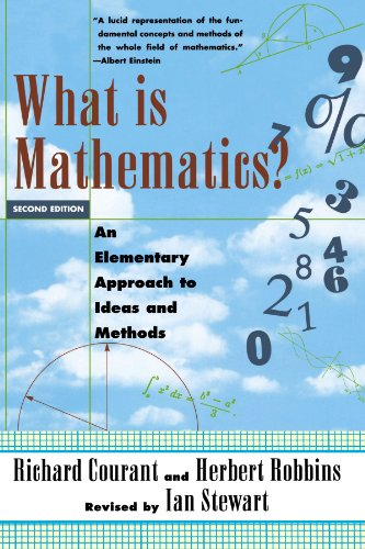 What Is Mathematics? An Elementary Approach to Ideas and Methods: Richard Courant, Herbert Robbins, Ian Stewart: 9780195105193: Amazon.com: Books