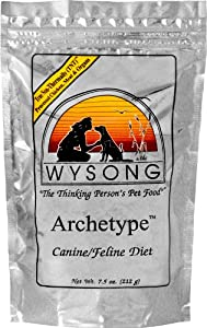 Wysong Archetype Raw Diet Pet Food Bag, 7.5-Ounce