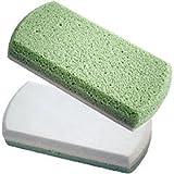 Earth Therapeutics Pedi-Glass Stone, Green