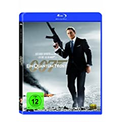 James Bond Quantum Trost Blu-ray