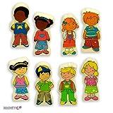Andreu Toys - Magnetic Kids - 8 Personajes