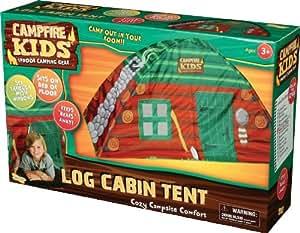 Campfire Kids Log Cabin Tent