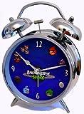 アングリーバードスペース(Angry Birds SPACE) ジャンボサイズ新目覚まし時計(直径16.5センチ):アングリーバードオフィシャルグッズ