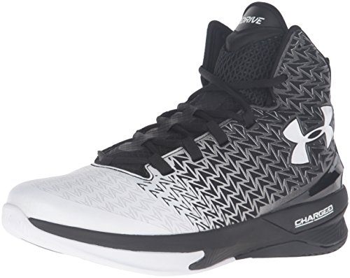 Under Armour Scarpe Basket Uomo - UA ClutchFit® Drive 3 - 1269274-002 - Black / White-46
