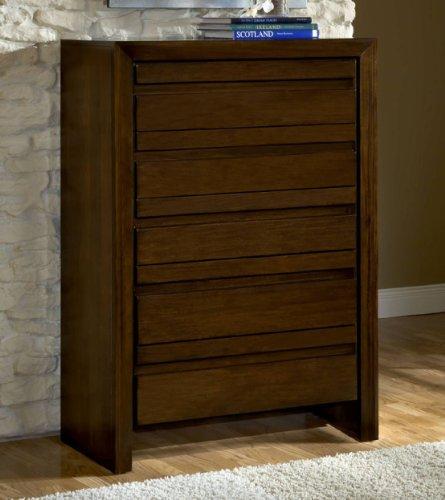Modus Furniture International Element Chest, Chocolate Brown front-475217