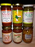 Trader Joe's Salsa Assortment (Pack of 6)