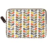 Orla Kiely Quilted Multi Scribble Stem Sleeve for 13 inch Macbookby Orla Kiely