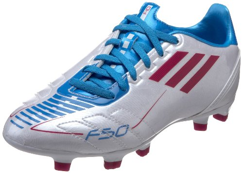 new concept 89f96 2150e adidas F10 TRX FG Soccer Cleat (Little KidBig Kid),Running White