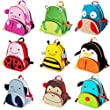 Animal Zoo Kids Toddler Backpack Rucksacks Various Designs - Penguin