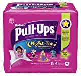 Pull-Ups Night-time Training Pants, Size 3T - 4T, Girl, 46 Count (Pack of 2)