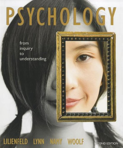 Psychology: From Inquiry to Understanding  (paperback)...