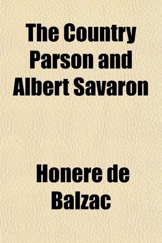 The Country Parson and Albert Savaron