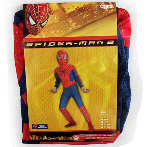 Spiderman Costume Boy Movie 2 - Child Plus 7-10