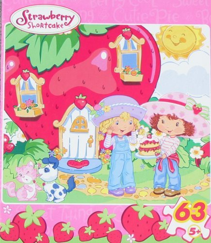 Strawberry Shortcake 63pc. Puzzle-Life is Delicious