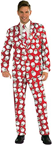 Forum Novelties Men's Plus Size Santa Suit Costume