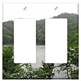 WaPlate - Shirakami Sanchi - Switch Plate Double Rocker/GFCI