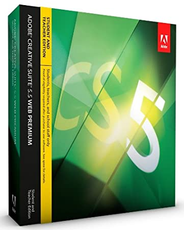 Adobe CS5.5 Web Premium Student and Teacher Edition