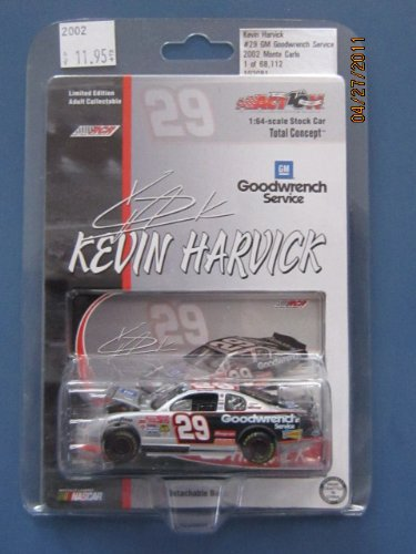 Kevin Harvick #29 Goodwrench 2002 Monte Carlo 1:64 Diecast Car by Total Concept - 1