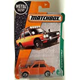 Matchbox 2017 MBX Explorers '70 Datsun 510 Rally 94/125, Orange