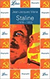echange, troc Jean-Jacques Marie - Staline, 1878-1953
