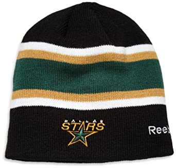 NHL Center Ice Official Team Player Knit Hat, Dallas Stars, One Size Fits All