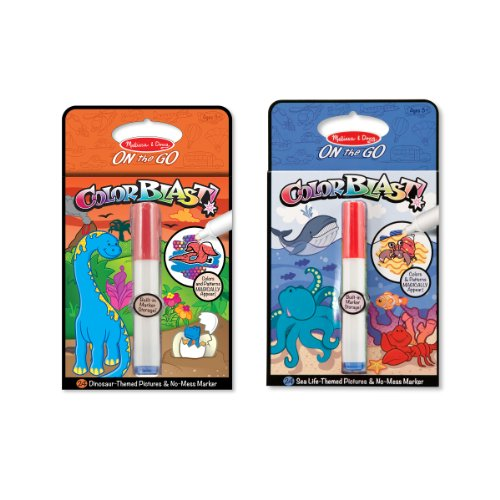 Melissa & Doug Colorblast! Bundle - Sea Life & Dinosaurs