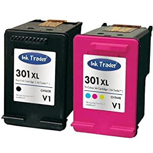 hp 301xl black tri colour remanufactured ink cartridges latest v1 cartridges for use with hp. Black Bedroom Furniture Sets. Home Design Ideas