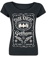 Batman Gotham Protector Girl-Shirt schwarz