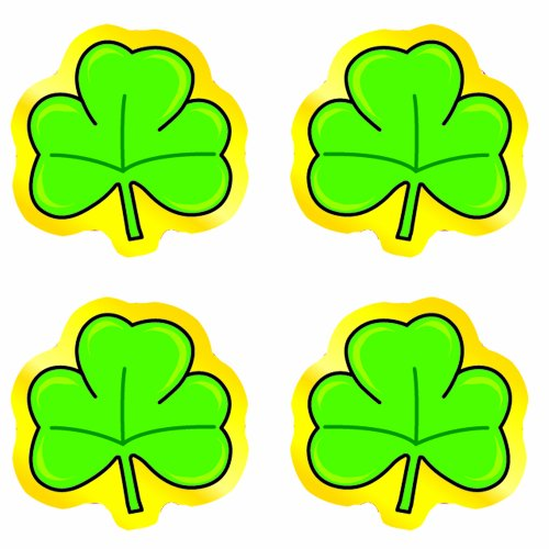 Carson Dellosa Shamrocks Shape Stickers (5269)
