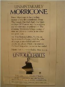 Ennio Morricone The Untouchables Poster
