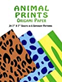 Animal Prints Origami Paper (0486400298) by Dover