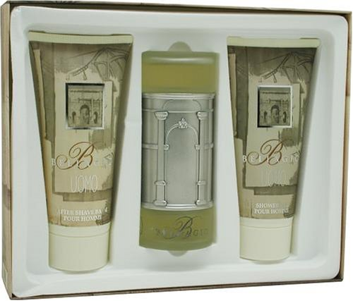 Bellagio By Bellagio For Men. Set-edt Spray 3.4 Ounces & Aftershave Balm 6.8 Ounces & Shower Gel 6.8 Ounces
