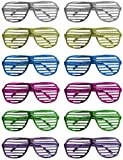 Lunettes disco grille