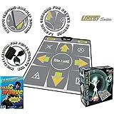 Dance Dance Revolution Multi-Platform Super Sensors Non-Slip Dance Pad & DDR PC GameThe Groove (輸入版)