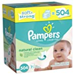 Pampers Natural Clean Wipes 7x Box 50...