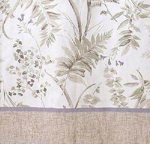 Ginkgo Shower Curtain Neutral Asian Inspired Creative Bath