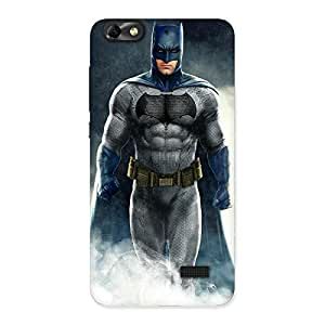 Stylish Blue Knight Walk Back Case Cover for Honor 4C