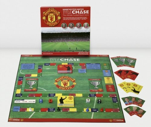 Manchester United Title Chase – the Ultimate Football Board Game by Title Chase günstig