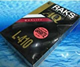 Raks AQ L-410 Sealed Blank Video Cassette Beta - Betamax